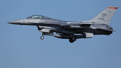 Photo ID 215259 by Rainer Mueller. USA Air Force General Dynamics F 16C Fighting Falcon, 92 3918