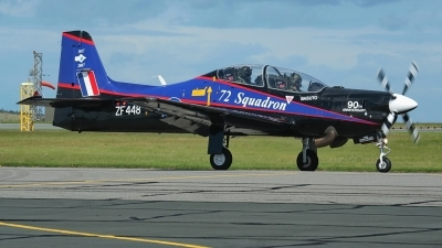 Photo ID 215265 by Sybille Petersen. UK Air Force Short Tucano T1, ZF448