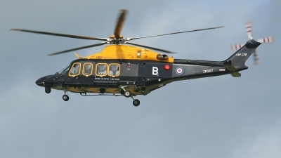 Photo ID 215279 by Sybille Petersen. UK Air Force Agusta Westland AW139, ZR327