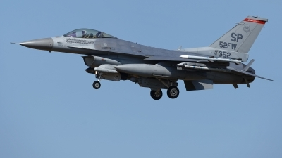 Photo ID 215278 by Rainer Mueller. USA Air Force General Dynamics F 16C Fighting Falcon, 91 0352