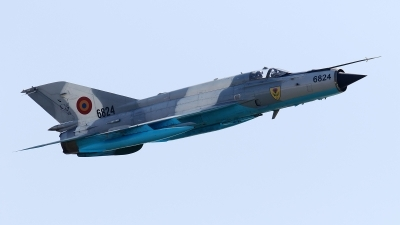 Photo ID 215360 by Aleksey Hinkov. Romania Air Force Mikoyan Gurevich MiG 21MF 75 Lancer C, 6824