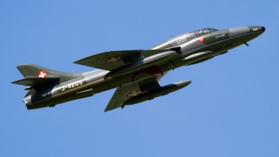 Photo ID 215293 by Agata Maria Weksej. Private Fliegermuseum Altenrhein Hawker Hunter T68, HB RVP