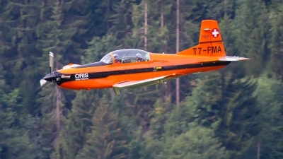 Photo ID 215359 by Agata Maria Weksej. Private Fliegermuseum Altenrhein Pilatus PC 7 Turbo Trainer, T7 FMA