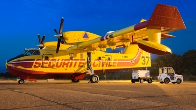 Photo ID 215335 by Jean-Baptiste GRITTI. France Securite Civile Canadair CL 415, F ZBFV