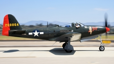 Photo ID 215600 by W.A.Kazior. Private Palm Springs Air Museum Bell P 63A Kingcobra, NX163BP