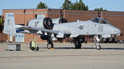 Photo ID 215371 by Gerald Howard. USA Air Force Fairchild A 10C Thunderbolt II, 78 0653