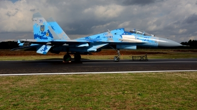 Photo ID 215401 by Michael Frische. Ukraine Air Force Sukhoi Su 27UB1M, B 1831M1