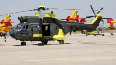 Photo ID 215412 by F. Javier Sánchez Gómez. Spain Army Aerospatiale AS 332B1 Super Puma, HU 21 06