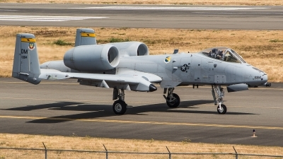 Photo ID 215433 by Max Welliver. USA Air Force Fairchild A 10C Thunderbolt II, 78 0684