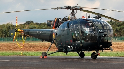 Photo ID 215444 by Carl Brent. Belgium Navy Aerospatiale SA 316B Alouette III, M 2