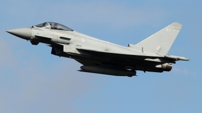 Photo ID 215450 by kristof stuer. UK Air Force Eurofighter Typhoon FGR4, ZK317