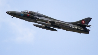 Photo ID 217524 by Agata Maria Weksej. Private Fliegermuseum Altenrhein Hawker Hunter T68, HB RVP