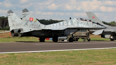 Photo ID 215645 by kristof stuer. Slovakia Air Force Mikoyan Gurevich MiG 29UBS 9 51, 1303