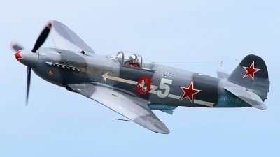 Photo ID 215510 by Maurice Kockro. Private Private Yakovlev Yak 3U, D FYGJ