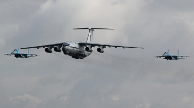 Photo ID 215494 by kristof stuer. Ukraine Air Force Ilyushin IL 76MD, 78820
