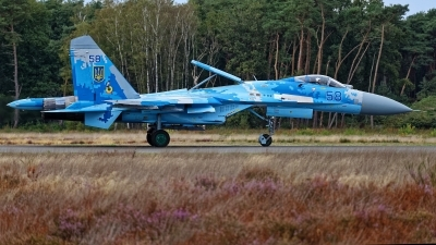 Photo ID 215714 by Rainer Mueller. Ukraine Air Force Sukhoi Su 27P1M,