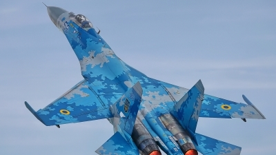 Photo ID 215519 by Rainer Mueller. Ukraine Air Force Sukhoi Su 27P1M,