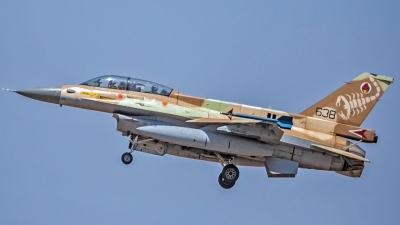 Photo ID 215753 by Anthony Hershko. Israel Air Force General Dynamics F 16D Fighting Falcon, 638
