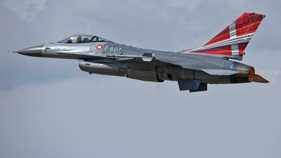 Photo ID 215548 by Rainer Mueller. Denmark Air Force General Dynamics F 16AM Fighting Falcon, E 607