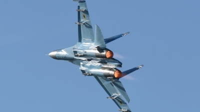 Photo ID 215539 by Hans-Werner Klein. Ukraine Air Force Sukhoi Su 27P1M,
