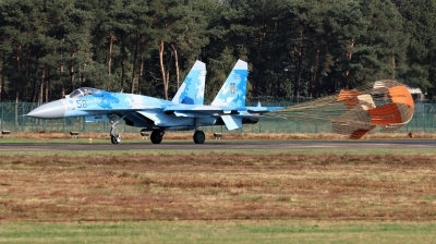 Photo ID 215531 by Milos Ruza. Ukraine Air Force Sukhoi Su 27P1M,