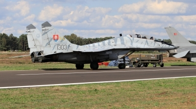 Photo ID 215534 by Milos Ruza. Slovakia Air Force Mikoyan Gurevich MiG 29UBS 9 51, 1303