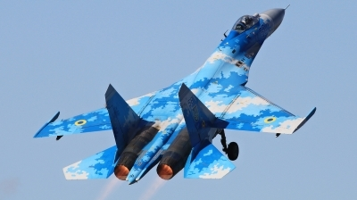Photo ID 215633 by Milos Ruza. Ukraine Air Force Sukhoi Su 27P1M,