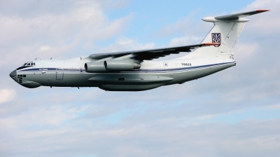 Photo ID 215643 by Michael Frische. Ukraine Air Force Ilyushin IL 76MD, 78820
