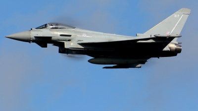 Photo ID 215639 by Michael Frische. UK Air Force Eurofighter Typhoon FGR4, ZK317