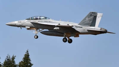 Photo ID 215665 by Lieuwe Hofstra. USA Navy Boeing EA 18G Growler, 168772
