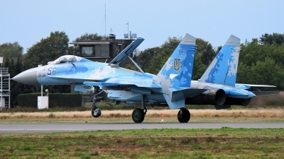 Photo ID 215700 by Patrick Mueller. Ukraine Air Force Sukhoi Su 27P1M,