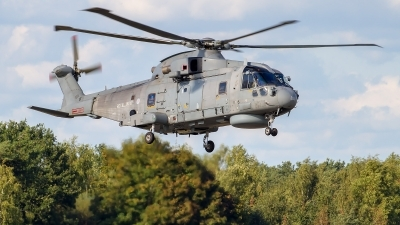 Photo ID 215807 by Alfred Koning. UK Navy Agusta Westland Merlin HM1 Mk111, ZH851