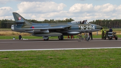 Photo ID 215815 by Alfred Koning. Private DHHF Dutch Hawker Hunter Foundation Hawker Hunter F6A, G KAXF