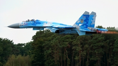 Photo ID 222025 by rob martaré. Ukraine Air Force Sukhoi Su 27P1M,
