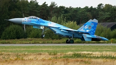 Photo ID 222026 by rob martaré. Ukraine Air Force Sukhoi Su 27P1M,