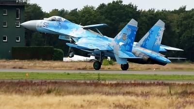 Photo ID 222027 by rob martaré. Ukraine Air Force Sukhoi Su 27P1M,