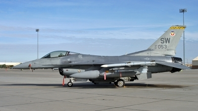 Photo ID 25073 by D. A. Geerts. USA Air Force General Dynamics F 16C Fighting Falcon, 01 7053