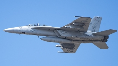 Photo ID 215865 by W.A.Kazior. USA Navy Boeing F A 18F Super Hornet, 166927