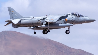 Photo ID 215866 by Adolfo Bento de Urquia. Spain Navy McDonnell Douglas EAV 8B Harrier II, VA 1B 29