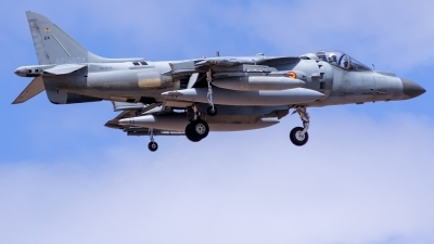 Photo ID 215867 by Adolfo Bento de Urquia. Spain Navy McDonnell Douglas EAV 8B Harrier II, VA 1B 36