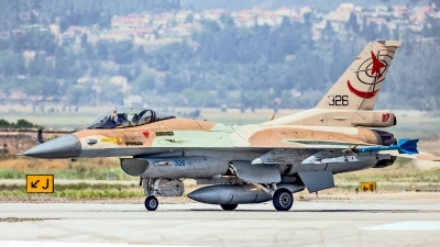 Photo ID 216011 by Anthony Hershko. Israel Air Force General Dynamics F 16C Fighting Falcon, 326