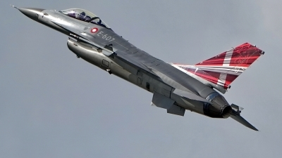 Photo ID 215919 by Dieter Linemann. Denmark Air Force General Dynamics F 16AM Fighting Falcon, E 607