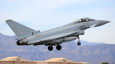 Photo ID 216060 by Peter Boschert. UK Air Force Eurofighter Typhoon FGR4, ZK343