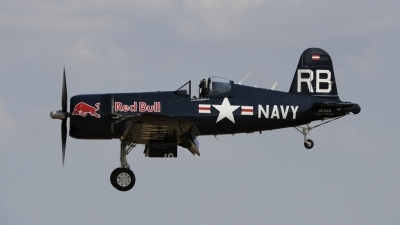 Photo ID 216027 by rinze de vries. Private Red Bull Vought F4U 4 Corsair, OE EAS