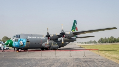 Photo ID 216048 by Baqir Kazmi. Pakistan Air Force Lockheed C 130E Hercules L 382, 4178