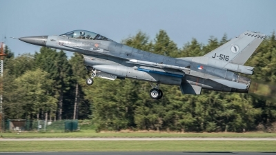 Photo ID 216053 by Sven Neumann. Netherlands Air Force General Dynamics F 16AM Fighting Falcon, J 516