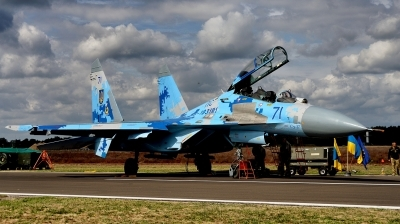 Photo ID 216059 by Alex Staruszkiewicz. Ukraine Air Force Sukhoi Su 27UB1M, B 1831M1
