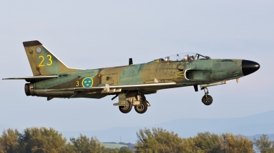 Photo ID 216086 by Jan Suchanek. Private Swedish Air Force Historic Flight Saab J32B Lansen, SE RMD