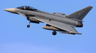 Photo ID 216121 by Mathias Grägel - GME-AirFoto. Germany Air Force Eurofighter EF 2000 Typhoon S, 31 19