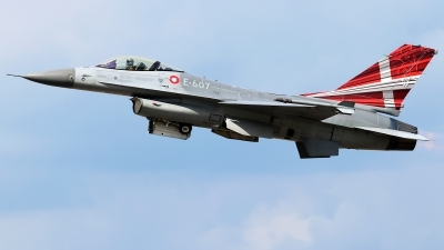 Photo ID 216151 by Mark Broekhans. Denmark Air Force General Dynamics F 16AM Fighting Falcon, E 607